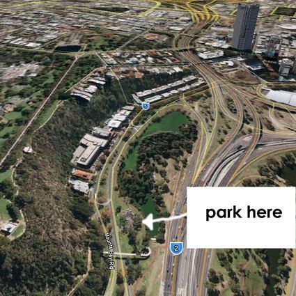 Mounts Bay Park parking