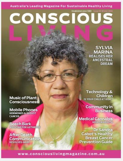 Sylvia Magazine Cover